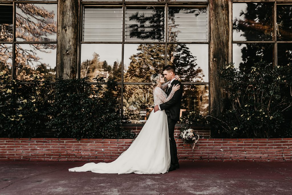 Andi and Logan's Big Bear Wedding | Dan Bushkin Photography