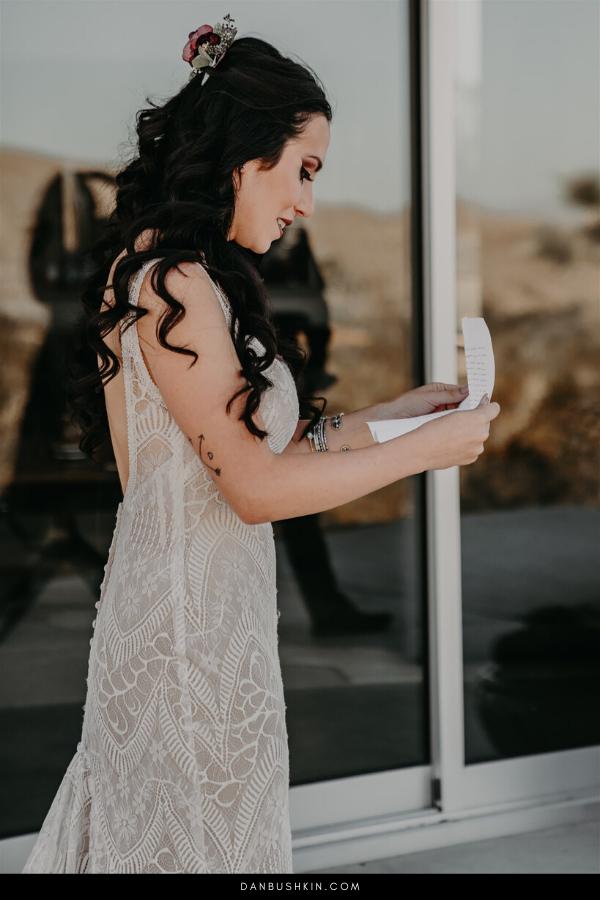 An Edgy Desert Joshua Tree Wedding | Dan Bushkin Photography