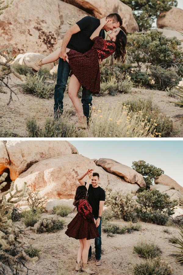 Vegas Desert Engagement | Dan Bushkin Photography