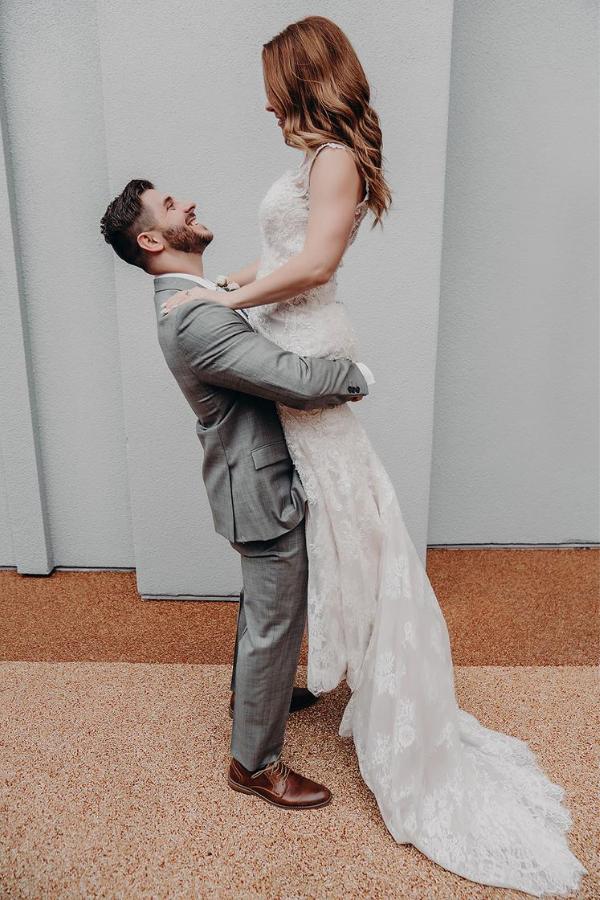 Intimate Vegas Rooftop Wedding | Dan Bushkin Photography