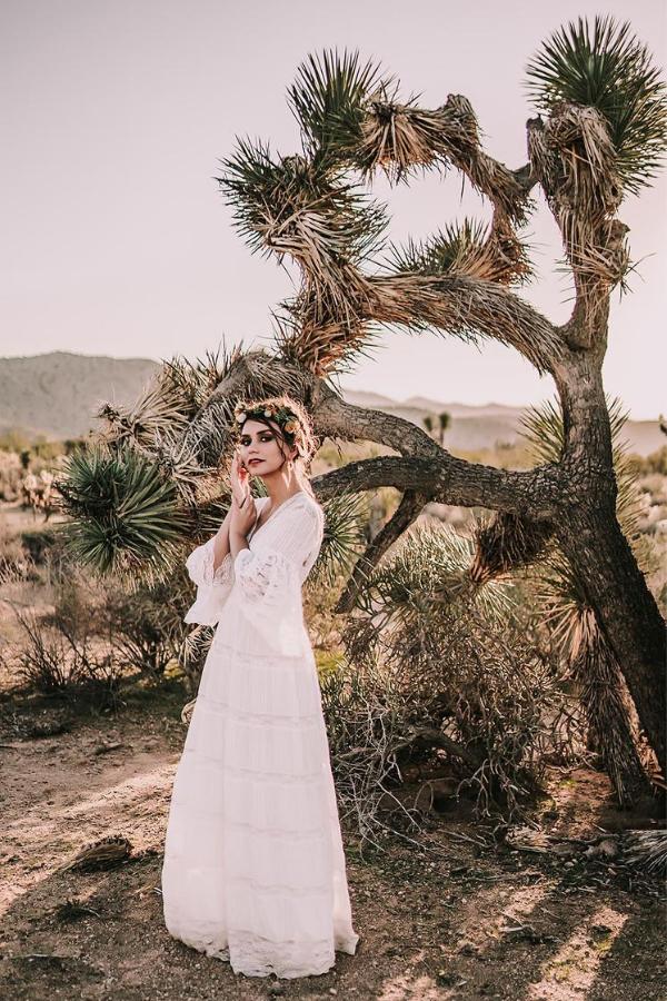 Joshua Tree Desert Elopement | Dan Bushkin Photography