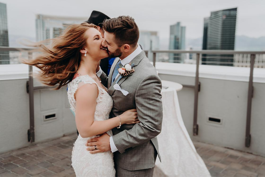 An Intimate Rooftop Elopement