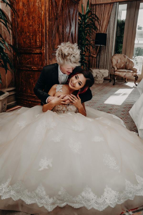 Jenny and Luke's Vegas Hotel Wedding   Dan Bushkin Photography