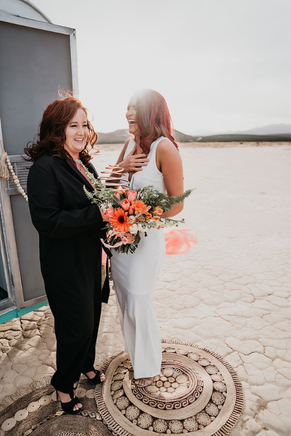 Tiffany and Jen Vegas Vow Renewal | Dan Bushkin Photography