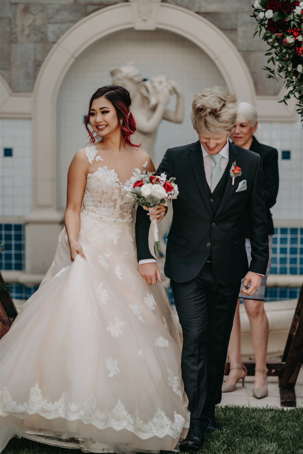 Jenny and Luke's Vegas Hotel Wedding | Dan Bushkin Photography